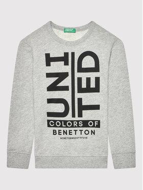 United Colors Of Benetton United Colors Of Benetton Μπλούζα 3J68C15B6 Γκρι Regular Fit