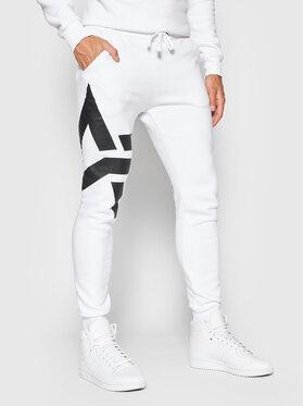 Alpha Industries Alpha Industries Spodnie dresowe Side Logo 118362 Biały Slim Fit