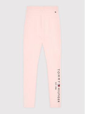 Tommy Hilfiger Tommy Hilfiger Legginsy Essential KG0KG05183 D Różowy Slim Fit
