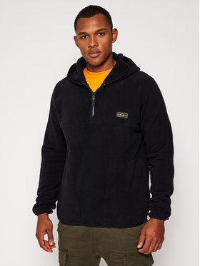 Quiksilver Quiksilver Полар Lost Wander EQYFT04233 Черен Regular Fit