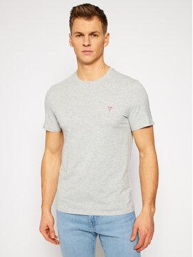 Guess Guess T-Shirt M1RI36 I3Z11 Szary Slim Fit