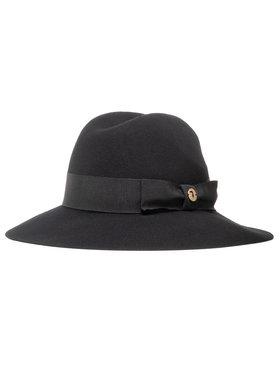 Trussardi Trussardi Skrybėlė Hat Ovale Mettallico 59Z00242 Juoda