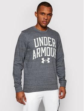 Under Armour Under Armour Суитшърт Rival Terry Crew 1361561 Сив Loose Fit