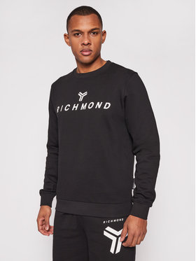 John Richmond John Richmond Bluză Crispignano UMP21087TS Negru Regular Fit