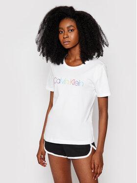 Calvin Klein Underwear Calvin Klein Underwear Піжама 000QS6672E Білий