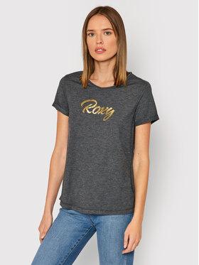 Roxy Roxy Póló ERJZT05266 Szürke Regular Fit