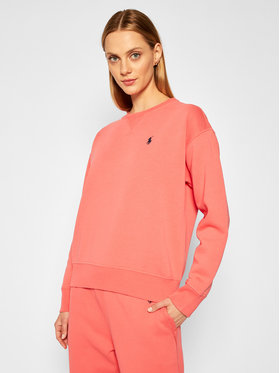 Polo Ralph Lauren Polo Ralph Lauren Sweatshirt 211794395007 Rosa Regular Fit