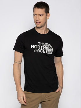 The North Face The North Face Póló Wood Dome Tee NF00A3G1J Fekete Regular Fit