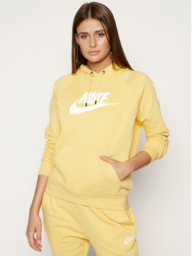 NIKE NIKE Džemperis Sportswear Essential BV4126 Geltona Regular Fit