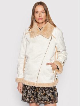 Liu Jo Liu Jo Átmeneti kabát WF1156 E0743 Fehér Regular Fit