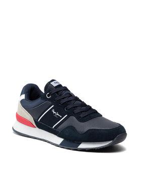 Pepe Jeans Pepe Jeans Sneakersy Corss 4 Court PMS30757 Tmavomodrá