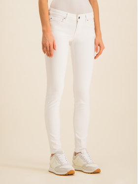 Pepe Jeans Pepe Jeans Skinny Fit džíny Soho PL210804U910 Bílá Skinny Fit