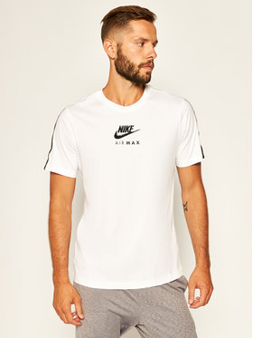 NIKE NIKE T-Shirt Air Max CT9744 Weiß Standard Fit