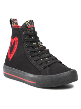 Desigual Desigual Sneakersy 21WSKA13 Černá