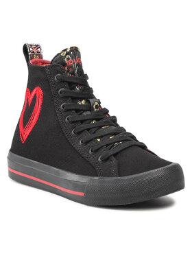 Desigual Desigual Sneakersy 21WSKA13 Čierna