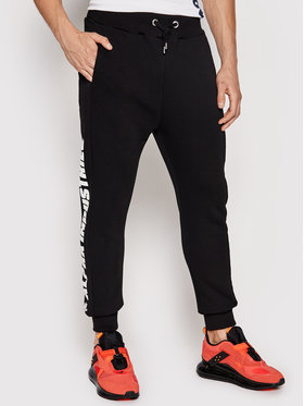 Alpha Industries Alpha Industries Долнище анцуг Inlay Rubber Jogger 116371 Червен Slim Fit