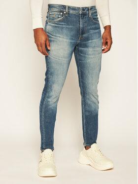 Calvin Klein Jeans Calvin Klein Jeans Jeansy Slim Fit Ckj 058 J30J316146 Granatowy Slim Fit
