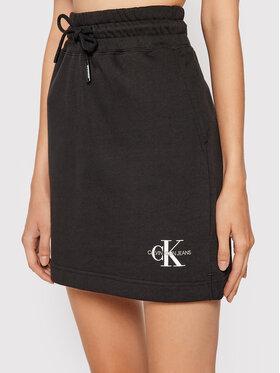 Calvin Klein Jeans Calvin Klein Jeans Mini sukňa J20J217173 Čierna Regular Fit