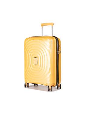 Puccini Puccini Malý tvrdý kufr Buenos Aires PP017C 6 Žlutá