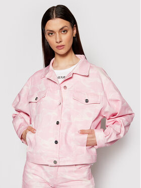 Ice Play Ice Play Giacca di jeans 21E U2M0 O021 6031 S411 Rosa Relaxed Fit
