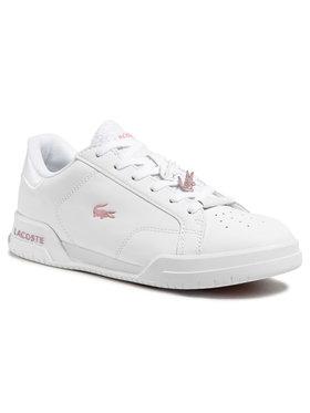 Lacoste Lacoste Sneakersy Twin Serve 0921 1 Sfa 7-41SFA00811Y9 Biały