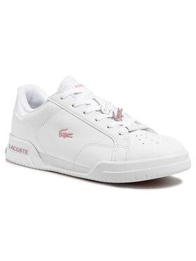 Lacoste Lacoste Sneakersy Twin Serve 0921 1 Sfa 7-41SFA00811Y9 Biela