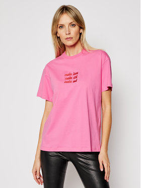 Local Heroes Local Heroes T-shirt Make Out SS21T0034 Rose Regular Fit