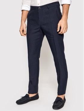 JOOP! Joop! Kalhoty z materiálu 17 Jt-18Hank 30026548 Tmavomodrá Slim Fit