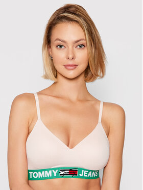 Tommy Jeans Tommy Jeans Push-up-BH Bralette Lift UW0UW02719 Rosa