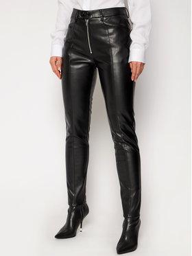 Calvin Klein Jeans Calvin Klein Jeans Kožené nohavice J20J215036 Čierna Slim Fit