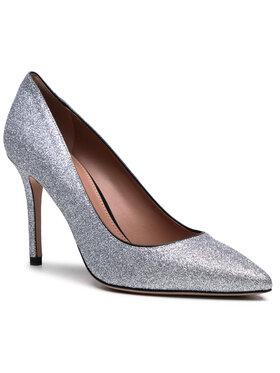 Boss Boss Pantofi cu toc subțire Eddie Pump 90-Gl 50447493 10233221 01 Argintiu
