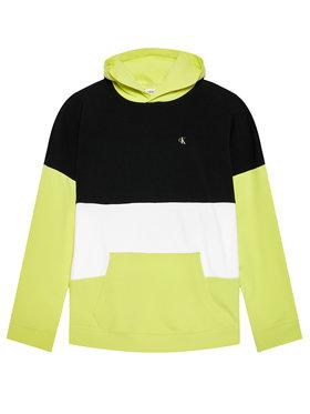 Calvin Klein Jeans Calvin Klein Jeans Bluză Colour Block Logo IB0IB00807 Galben Regular Fit