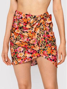 For Love & Lemons For Love & Lemons Mini sukňa Gilles CBS1736 Oranžová Slim Fit