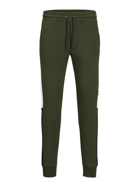 Jack&Jones Jack&Jones Pantaloni trening Will 12197199 Verde Regular Fit