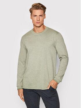 Only & Sons Only & Sons Тениска с дълъг ръкав Millenium 22020148 Зелен Regular Fit