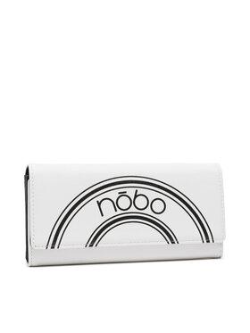 Nobo Nobo Голям дамски портфейл NPUR-K0030-C000 Бял