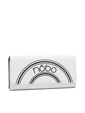 Nobo Nobo Portafoglio grande da donna NPUR-K0030-C000 Bianco