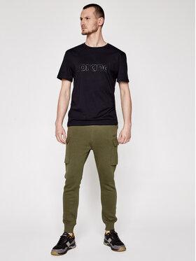 Sprandi Sprandi T-Shirt SS21-TSM003 Schwarz Regular Fit