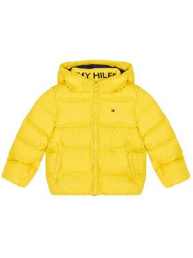 Tommy Hilfiger Tommy Hilfiger Kurtka puchowa Essential KB0KB05879 M Żółty Regular Fit