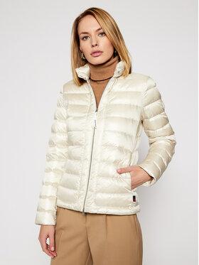Woolrich Woolrich Pernata jakna Clover CFWWOU0338FRUT1917 Bijela Regular Fit