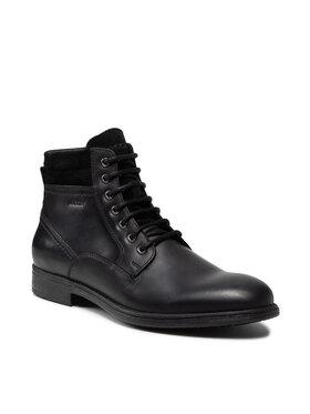 Geox Geox Μπότες U Jaylon B U16Y7B-000CL C9999 Μαύρο