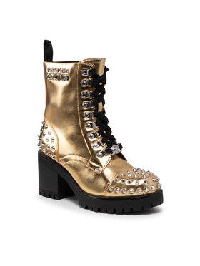 Versace Jeans Couture Versace Jeans Couture Polokozačky 71VA3S96 Zlatá