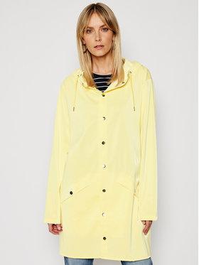 Rains Rains Kurtka przeciwdeszczowa Unisex 1202 Żółty Regular Fit
