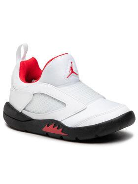 Nike Nike Buty Jordan 5 Retro Little Flex Ps CK1227 100 Biały