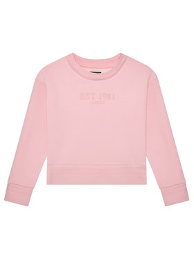 Guess Guess Bluza J1YQ15 K9Z21 Różowy Regular Fit