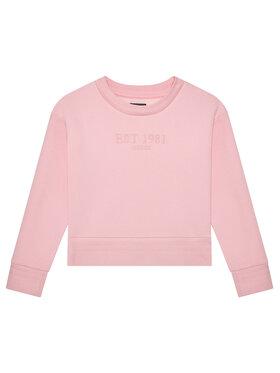 Guess Guess Μπλούζα J1YQ15 K9Z21 Ροζ Regular Fit