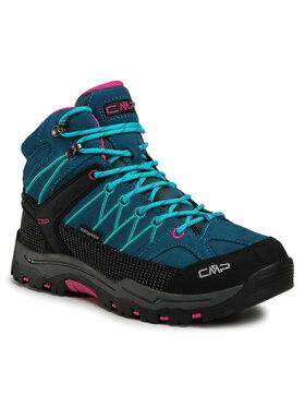 CMP CMP Παπούτσια πεζοπορίας Kids Rigel Mid Trekking Shoes Wp 3Q12944J Μπλε
