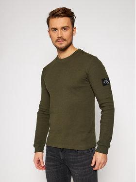 Calvin Klein Jeans Calvin Klein Jeans Sveter J30J316610 Zelená Slim Fit