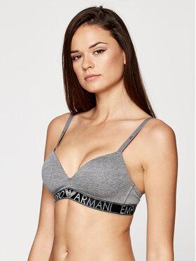 Emporio Armani Underwear Emporio Armani Underwear Besiūlė liemenėlė 164410 0A225 06749 Pilka