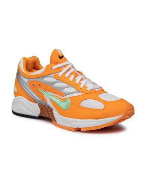 Nike Nike Buty Air Ghost Racer AT5410 800 Pomarańczowy
